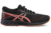 asics fuzeX Lyte Shoe Women Black/Flash Coral/Onyx